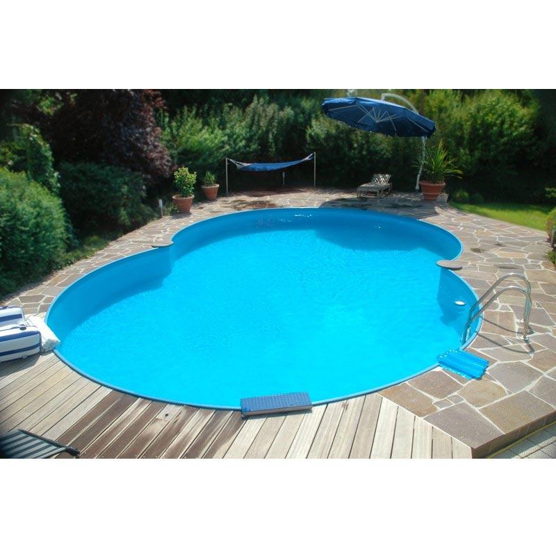 pool achtform set frei konfigurierbar. Black Bedroom Furniture Sets. Home Design Ideas