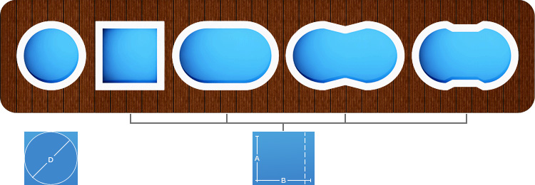swimming pool planen kaufen und selber bauen. Black Bedroom Furniture Sets. Home Design Ideas