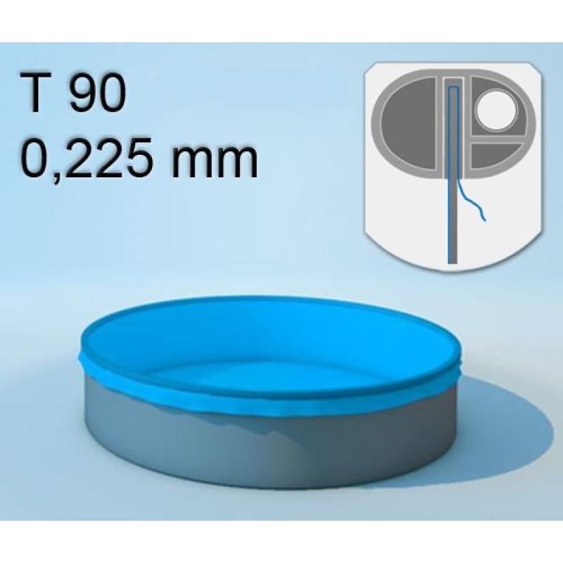 Kinderbecken poolfolie 0 225 mm rund verschiedene for Poolfolie 460 x 90