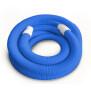 Schwimmschlauch 38mm mit Endtüllen Länge 10 m - blau