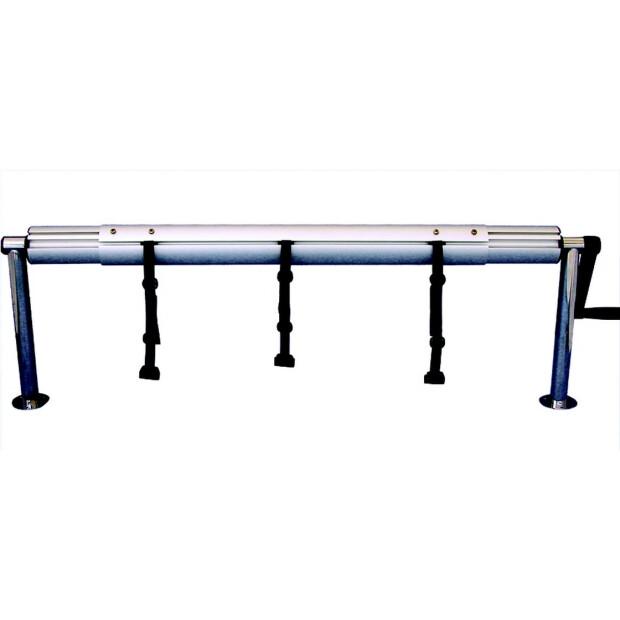 Aufrollvorrichtung DELUXE Fixmontage bis 6,90 m 260 - 430 cm