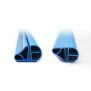 Schwimmbecken Handlaufpaket OFB - Oval, Blau inkl. Profilverbinder
