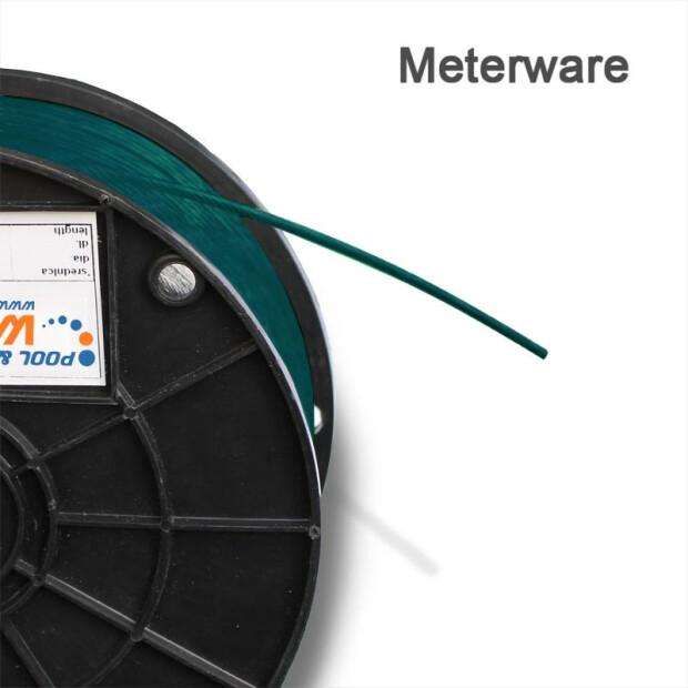 Drahtseil PVC ummantelt 1/2 mm für Winterplanen & Poolabdeckung (Mete