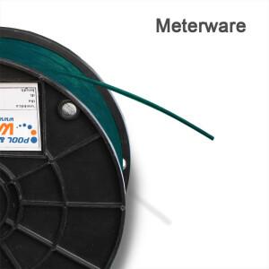 Drahtseil PVC ummantelt 1/2 mm für Winterplanen...