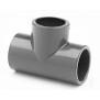 T-Stück PVC 90° allseitig Klebemuffen für Rohr 50mm