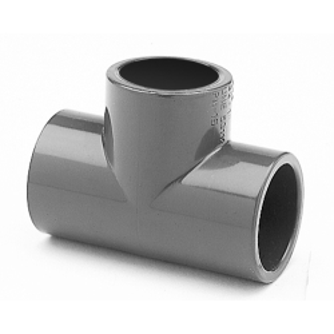 T-Stück PVC 90° allseitig Klebemuffen für...