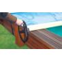 Woodstar Rollschutzabdeckung für Holzbecken - Walu Pool