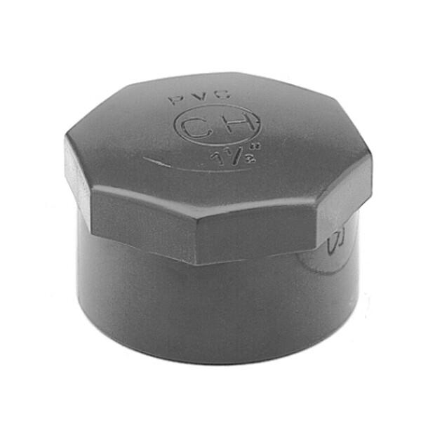 PVC Kappe mit Innengewinde