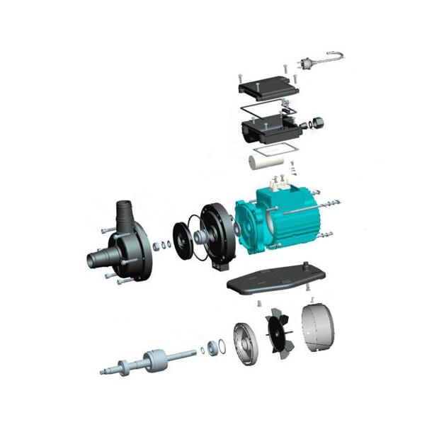 AquaStar 4 Pumpe - Ersatzteile Nr. 2 - Klemmkastendeckel