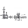 AquaStar 12/14/15 Pumpe - Ersatzteile Nr. 37 - Kondensator