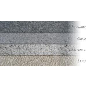 Beckenrandsteine Achtform Granit Natura-Kiruna