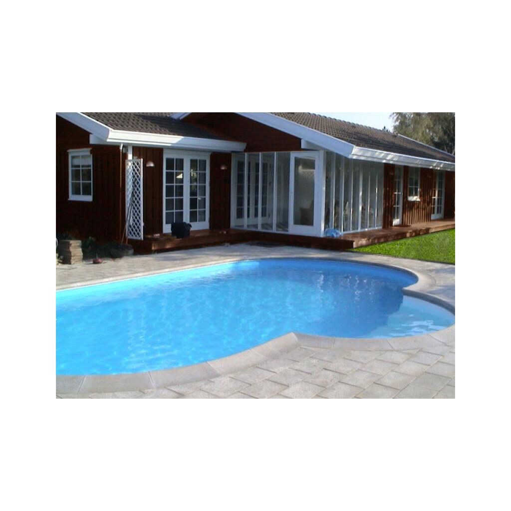 Olympia oval nassgegossene beckenrandsteine pool for Pool schwimmbecken
