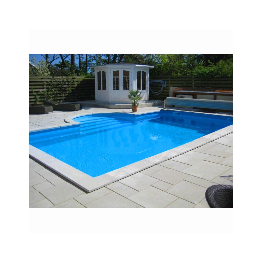 Olympia rechteck nassgegossene beckenrandsteine pool for Rechteck pool zum aufstellen