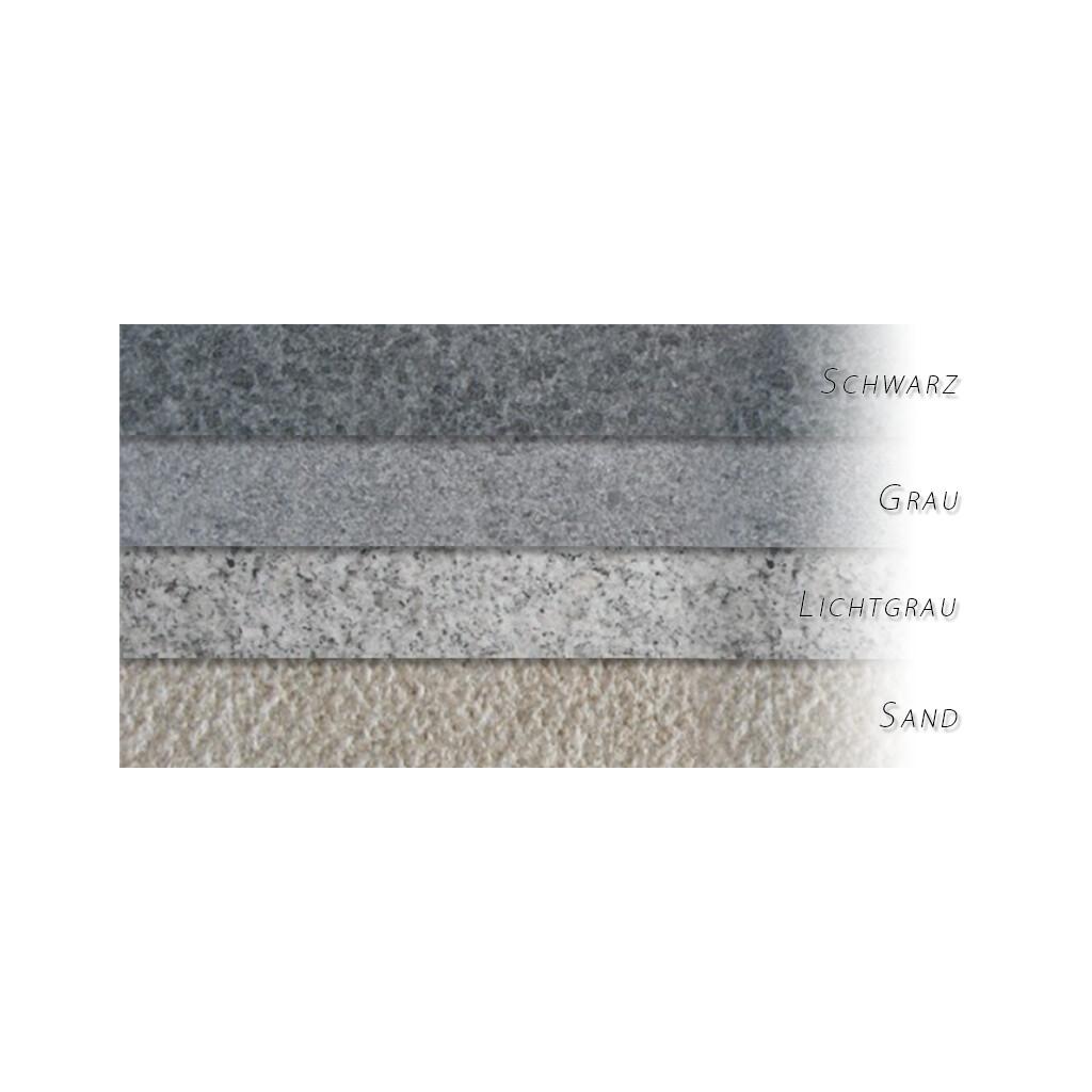 granit terrassenplatten natura vpe 11 88 qm lichtgrau 60 x 60 x 3 cm. Black Bedroom Furniture Sets. Home Design Ideas