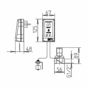 Skimmer Niveausteuerung NC01