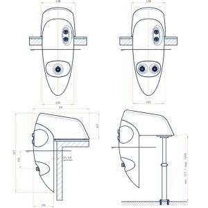 BADU Jet Riva - Einhänge-Gegenstromanlage 54 & 58 m³/h