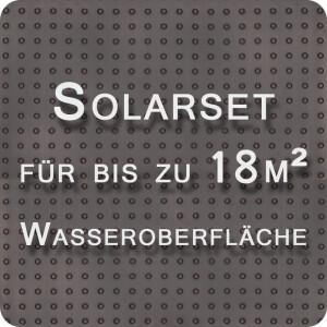 OKU Solarabsorber-Set bis 18m² Wasseroberfläche mit Steuerung + Kugelhahn separat