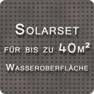 OKU Solarabsorber-Set bis 40m² Wasseroberfläche