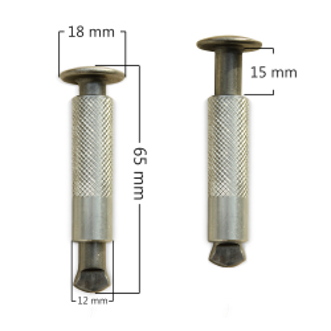 Senkstift VA/ ALU - D12mm zur Befestigung von...