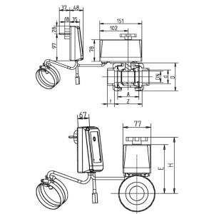 Evolution® Solarsteuerung SC01 mit 2 Wege-Kugelhahn