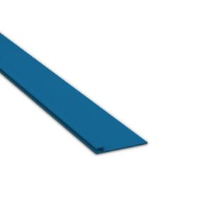 Keilbiesen-Profil gerade für Styrodurbecken B105mm L2000mm Weiß