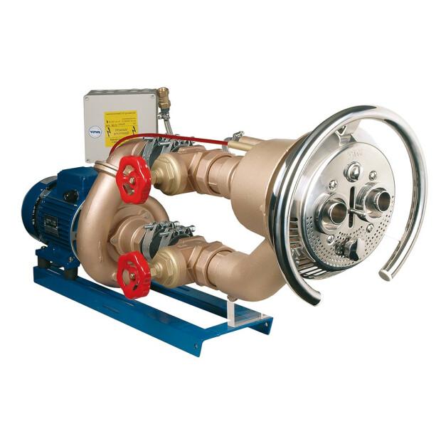 Gegenstromanlage - Taifun-Duo - Komplett-Set für Folienbecken mit Chlorwasser
