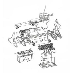 W0164A Zylinderkopfschraube für Blech 3.9x25...