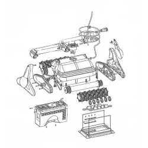 W0375A Zylinderkopfschraube für Blech 3.5x19...