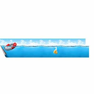 Pool-Bordüren auf 0,8 mm Poolfolie B9