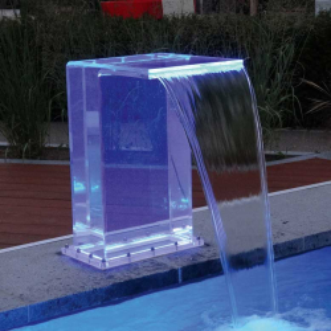 Schwalldusche Acryl Elegant - transparent
