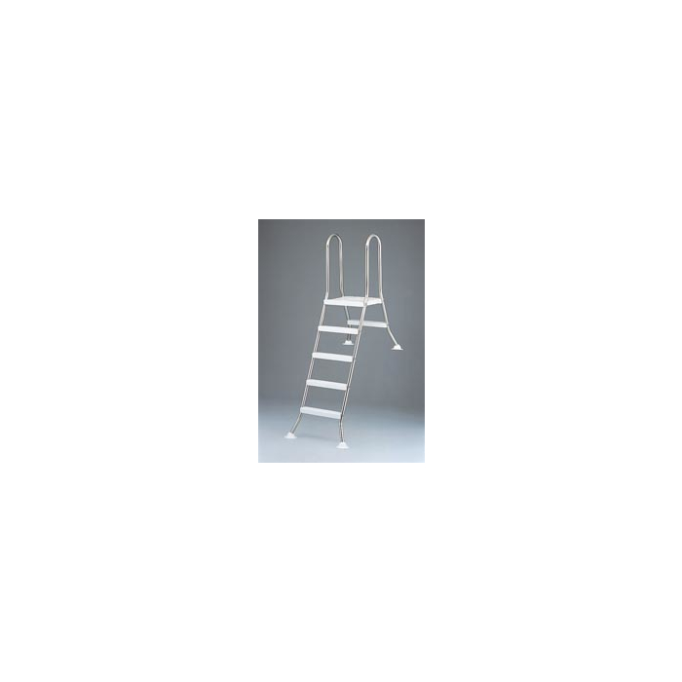 Leiter für Becken 120 cm hoch, 2/3 eingebaut TBE 120/040VA