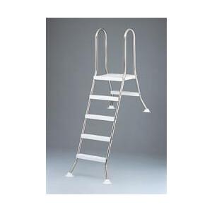 Leiter für Becken 120 cm hoch, 2/3 eingebaut TBE...
