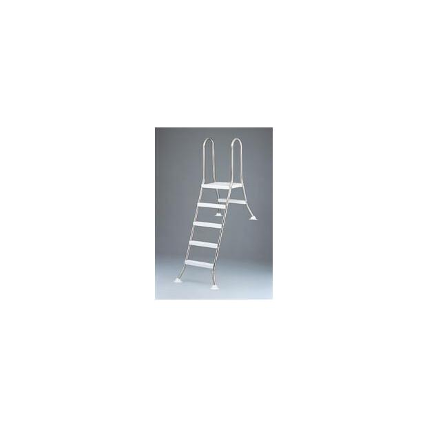 Leiter für Becken 150 cm hoch, 3/4 eingebaut TBE 150/050VA
