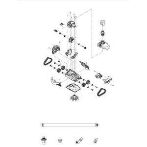 7 Raupenband-Antriebskupplung