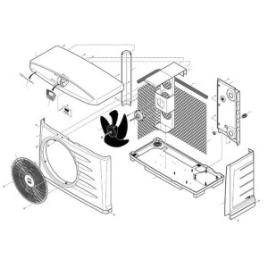 Nr.31 Betriebskondensator für Lüftermotor (5 µF)