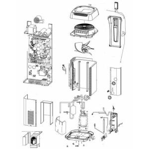 Nr.75 Kondensator / Wärmetauscher für MD4, MD5,...