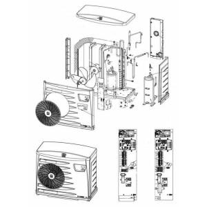 Nr.26 – 29 Fühler ST1, ST2, ST3, ST4, ST5 (1 Ersatzfühler mit Wagoklemmen)