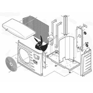 Nr.37b Betriebskondensator für Kompressor (60 µF) für PF13, PF15