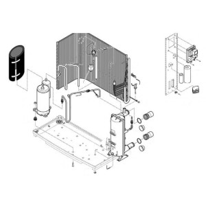 Nr.1 Kompressor (5KS221DAJ21) für PP2, OP2