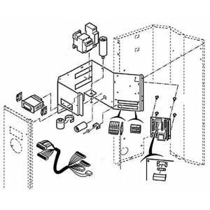 Nr.37 Betriebskondensator für Kompressor (80 µF) für EDEN4M