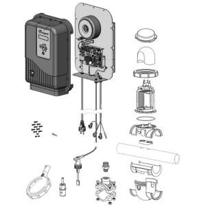 Nr.3 Stromversorgung PCB, Ei2 Expert (+ Wärmeleitpaste & Schrauben)
