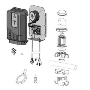 Nr.1 Gehäuse mit Benutzeroberfläche, GenSalt OE (mit PCB-Karte)