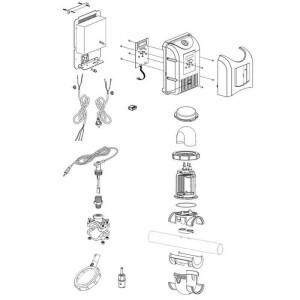Nr.2 Netzteil (Stromplatine, Ventilator, Aluminium-Chassis, Hülle)