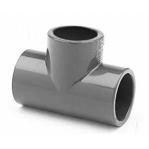 T-Stück PVC 90° allseitig Klebemuffen