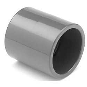 Klebemuffe PVC, allseitig Klebemuffen