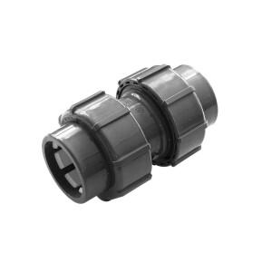 Flex-Fit PVC-U Doppelverschraubung Klemm/ Klemm