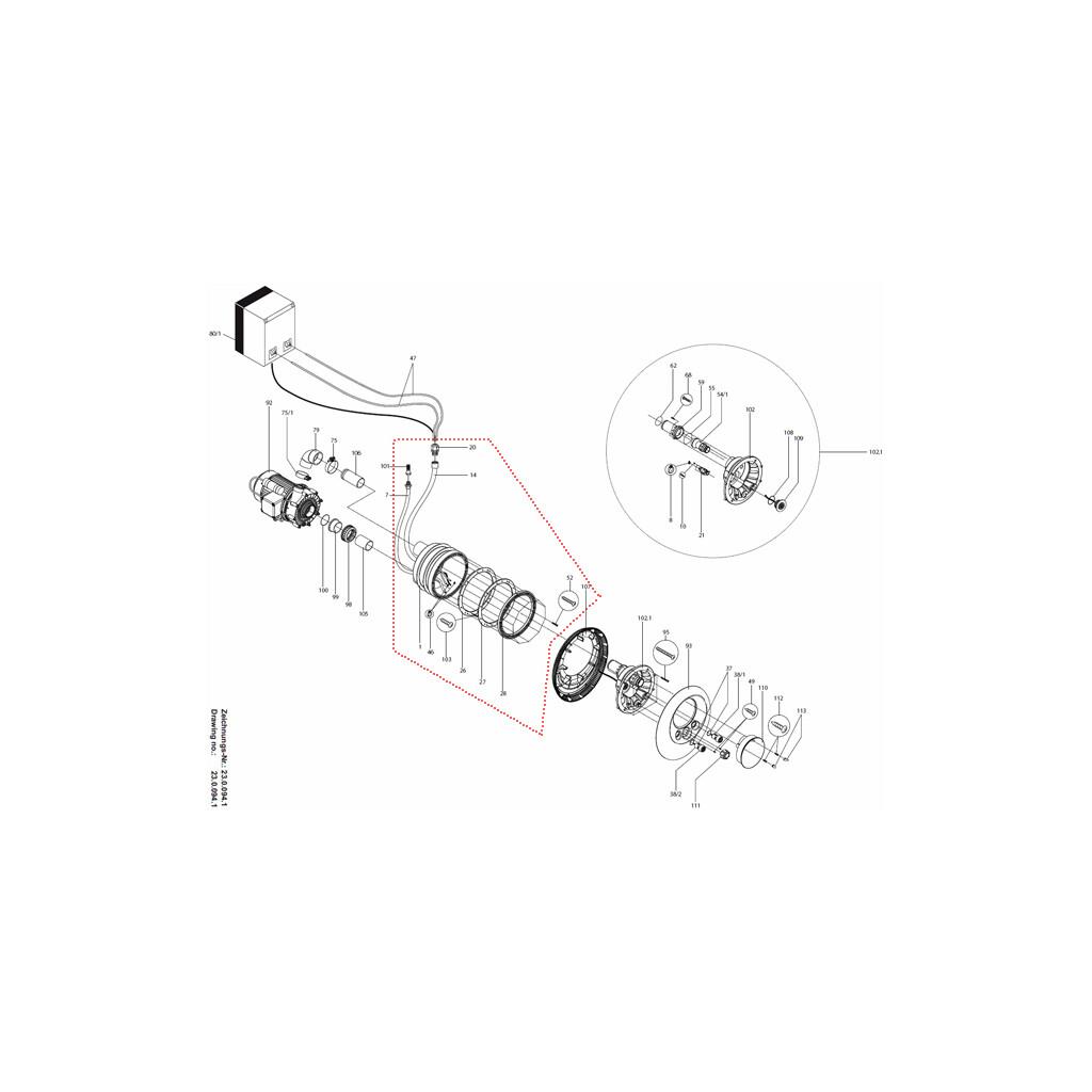 Vormontagesatz Speck Gegenstromanlage Smart Vogue und Wave