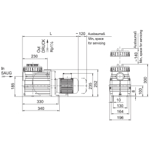 Speck Bettar ( Top II ) Filterpumpe