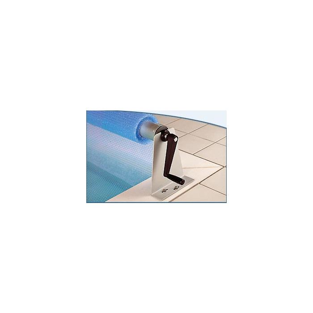 Aufrollvorrichtung ALU bis 315cm Beckenbreite