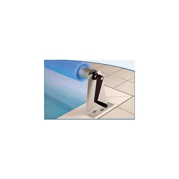 Aufrollvorrichtung ALU von 300 - 600 cm Beckenbreite 420 cm